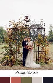 10 stunning autumn wedding colour palettes chic vintage brides