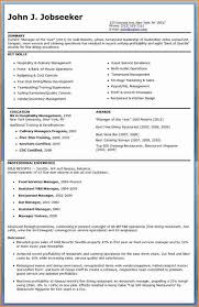 Restaurant Manager Resume Sample Free by Restaurant Manager Resume Template