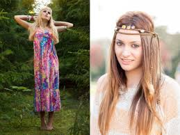hippie hair accessories cool and stylish ways for women to rock hippie clothes