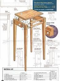 Hall Table Plans Build Hall Table U2022 Woodarchivist