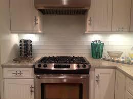 kitchen subway tile backsplash ideas with white cabinets window