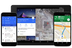 Google Maps Walking Directions Google Maps Updated For Iphone Android With Reservations And Uber
