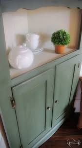 enchanting corner hutch guest post country chic paint