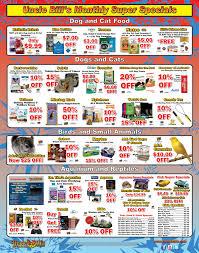 uncle bill u0027s pet supplies specials