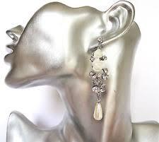 earrings for second pearl teardrop earrings ebay