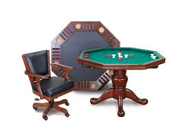 Poker Dining Table by Imperial 3 In 1 Game Table W Poker Dining Bumper Pool U0026 4