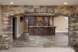 Interior Stone Arches Private Residence Glen Gery Brick