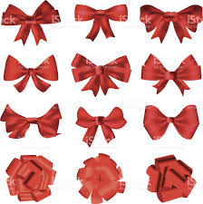 red bows for decoration or gifts stock vector art 181104059 istock