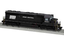 penn central legacy sd45 diesel locomotive