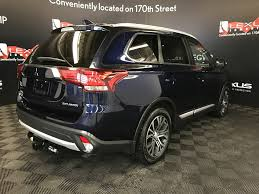 mitsubishi suv blue used 2017 mitsubishi outlander 4 door sport utility in edmonton