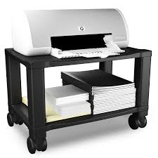 100 printer storage printer trolley 2 compartment filing
