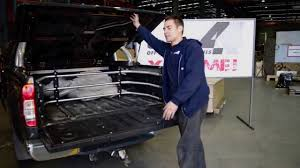 jeep bed extender uneek 4x4 ute bed extender youtube
