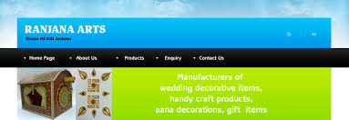 Wedding Decoration Items Manufacturers Of Wedding Decorative Items Handy Craft Products Aana