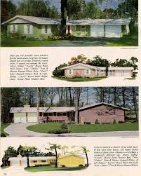 House Styles by Exterior Colors For 1960 Houses Retro Renovation Exterior