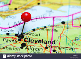 Map Of Ohio by Cleveland Map Detailed Road Map Of Cleveland Ohio Very Clear Map