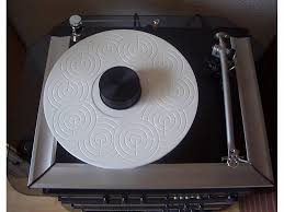 platter mat delta device acrylic turntable mat for rega p7 white grinded with