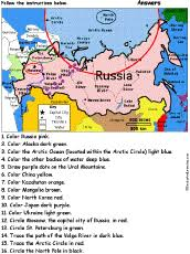 map quiz russia and the republics russia enchantedlearning