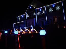 leesburg house aglow with spectacular blinking lights synced to