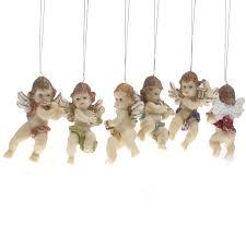 musical cherub ornaments ornaments
