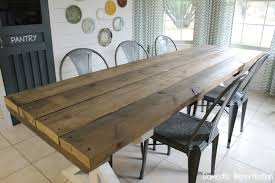 Picnic Dining Room Table Collection In Dining Table Style Rustic Picnic Style Dining Table