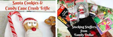 christmas stuffers shop family dollar for christmas santa rudolph cookies