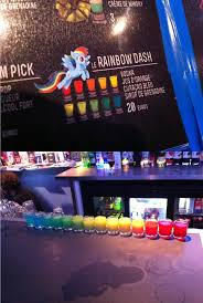 rainbow cocktail le rainbow dash rainbow cocktails my little pony friendship is