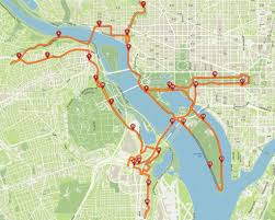 Wisconsin Road Construction Map by Marine Corps Marathon Brings Road Closures To Arlington Dc Wtop