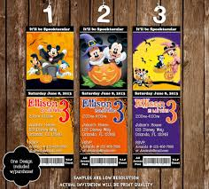 novel concept designs mickey mouse spooky halloween birthday
