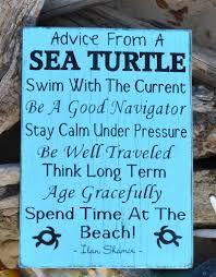 home at the beach decor beach decor advice from a sea turtle the sign shoppe 2