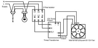 rhl dryvent b 12v wiring diagram rhl ventilation bathroom and
