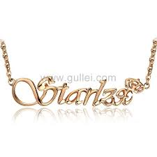 make your own name necklace make your own my name necklace crown silver personalized couples
