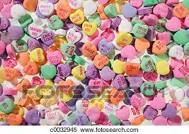 heart candies stock image of up of colorful s message heart
