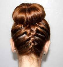 donut hair bun use a hair donut to help you make this braided sock bun look from