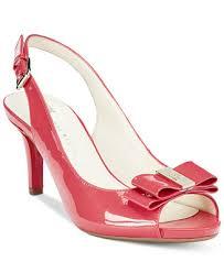 Wedding Shoes Macys Anne Klein Stephania Slingback Pumps Sale U0026 Clearance Shoes