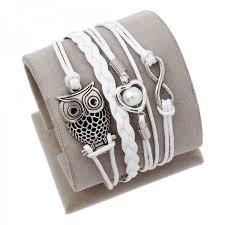 anchor bracelet charm images Vintage owls and anchor bracelets leather wrap bracelet charm jpeg