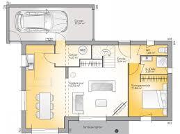 les 3 chambres plans de maison rdc du modèle eco concept maison moderne à