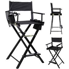 The Directors Chair On The Set Amazon Com Professional Makeup Artist Directors Chair Wood Light