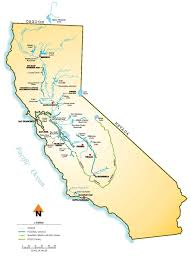 California Aqueduct Map Map Of The Central Valley Central Valley Bird Club California
