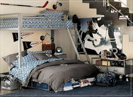 bedroom attractive gray iron bunk bed combined gray quilts and
