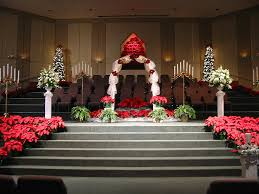 christmas wedding ceremony decorations cherry marry