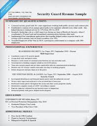 Security Guard Resume Example by Download Resume Summary Examples Haadyaooverbayresort Com