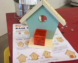 build a rain gauge with your kids at home depot march 4th ship