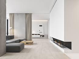 White Living Room 3 White Themed Homes With Striking Modern Minimalist Aesthetics