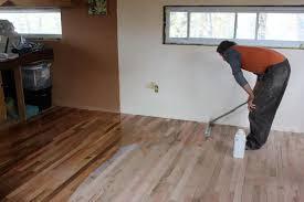 building a tiny house flooring