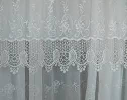 Antique Lace Curtains Antique Lace Panel Etsy