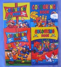 a6 mini pirate colouring books
