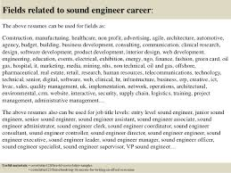 Example Of An Excellent Resume by Download Audio Recording Engineer Sample Resume