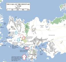 Map With Labels Historical Map 7 The Flight Of The Rhoynar Atlas Of Ice And Fire