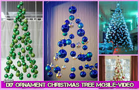 diy ornament tree mobile tutorial