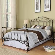 Queen Size Sleigh Bed Frame Dazzling Storage Queen Sleigh Bed Frame As Bedroom Decoration